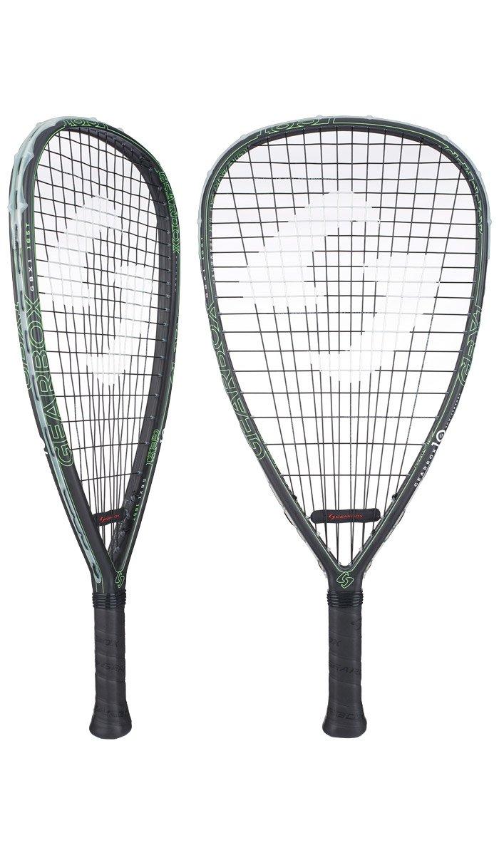 Gearbox GBX1 ''10th Anniversary Edition'' Racquetball Racquet (165g)(Tear)(Green)(3 15/16'' Grip)