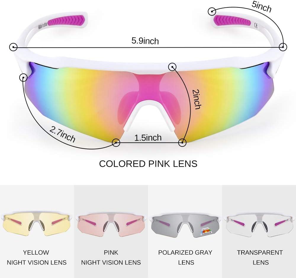Goggles For Men Women Cycling Driving Running Sunglasses Bike Glasses Sports