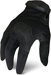 Ironclad EXOT-SVEN-04-L Tactical Stealth Vented Gloves, Large