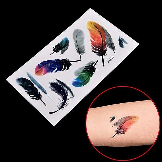 1 unid Etiqueta engomada del tatuaje a prueba de agua Arte ...