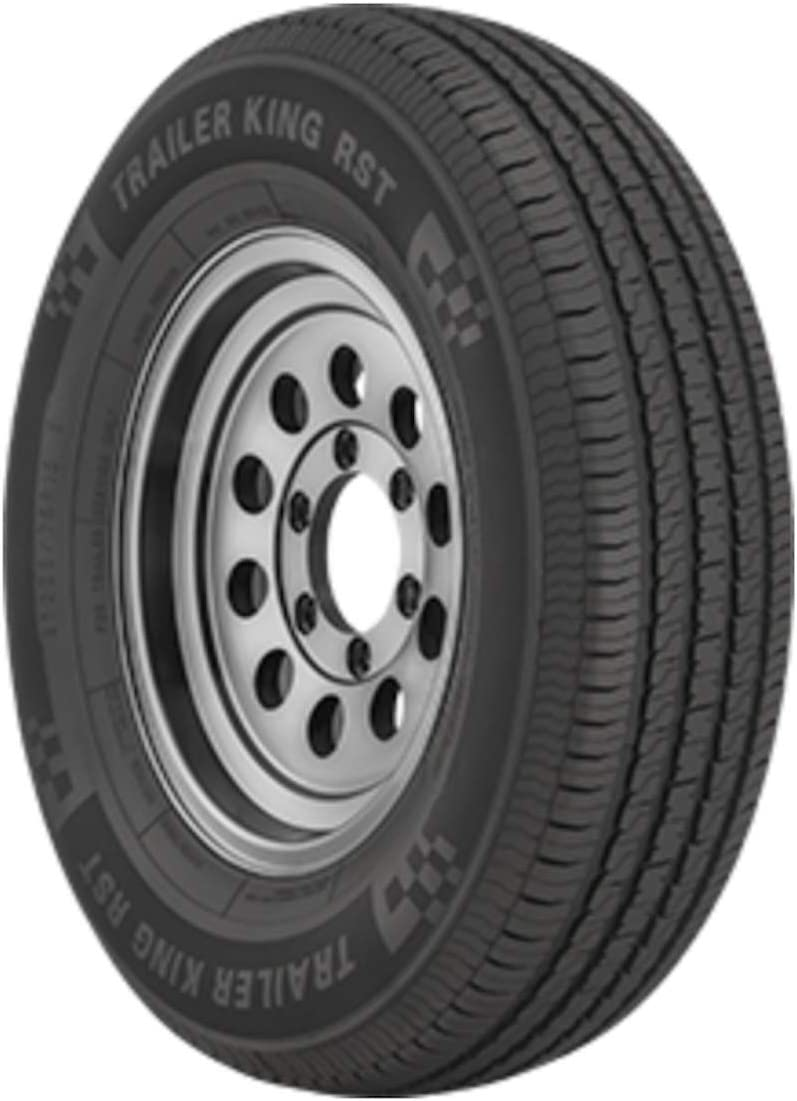 ST235//85R16 F 128//124M 12-Ply Trailer King RST Tire Tire Only