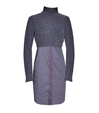 0a0f9ceb027 Elie Tahari Raleigh Sweater Dress Charcoal at Amazon Women s ...