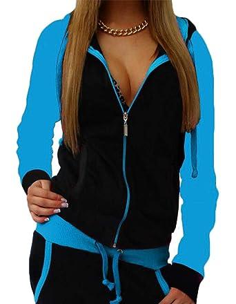GRMO Women - Chándal - para Mujer Azul Azul M: Amazon.es: Ropa y ...