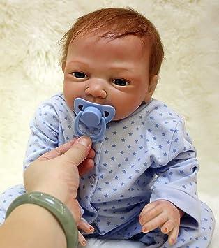 ZIYIUI 50 cm Realistic Silicona Muñecos Bebé 20