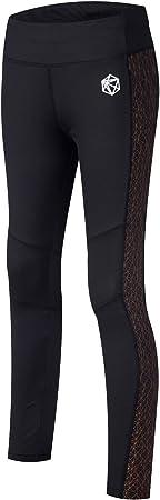 TALLA S. SILIK Womens Sports Workout Leggings atléticos Pantalones de Yoga de Longitud Completa Pantalones de Gimnasia para Correr Medias