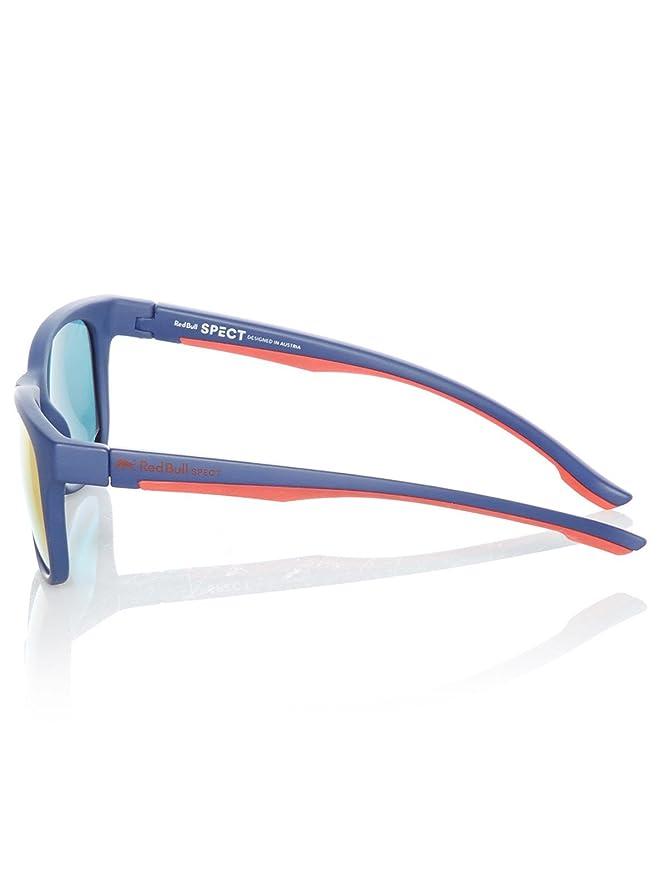 Red Bull SPECT Gafas de sol polarizadas Indy Matt Dark Azul-rojo-Smoke Rojo Mirr: Amazon.es: Ropa y accesorios