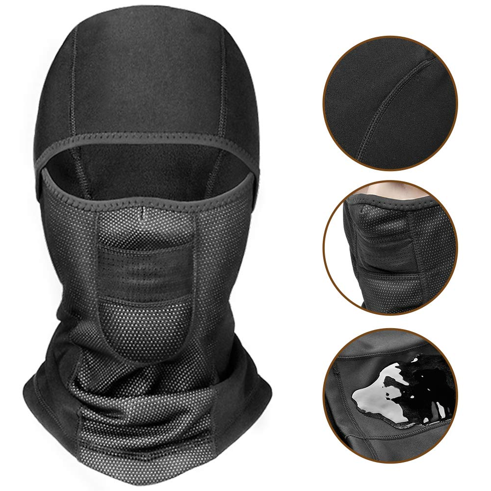 1a5c1459e04b ... Thermal Windproof Waterproof Breathable Balaclava for Men Women Outdoor  Skiing