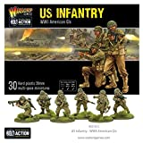 Bolt Action Us Infantry - WW2 American Gis Box - Plastic