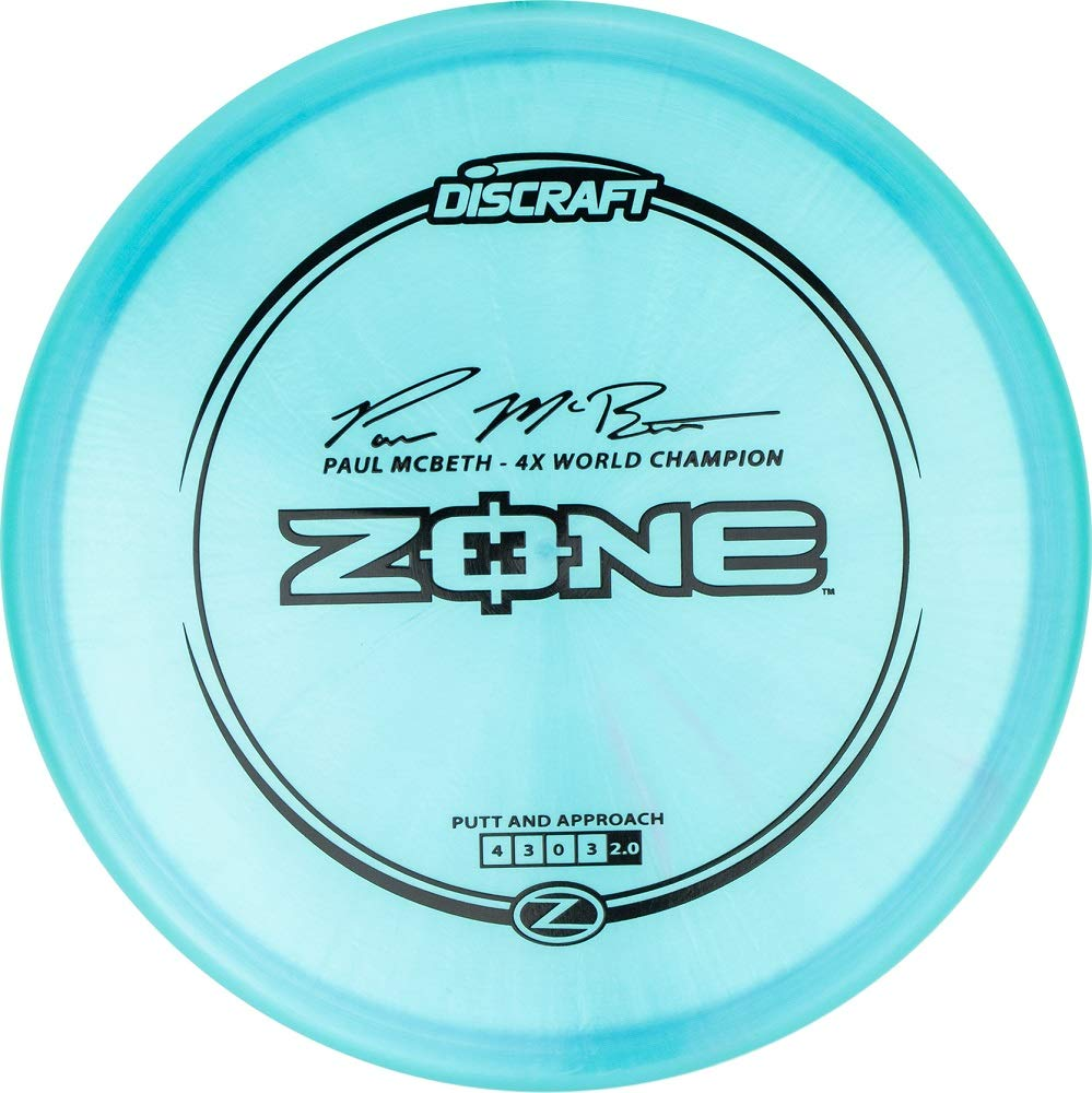 Discraft Paul McBeth Signature Elite Z Zone Putt and Approach Golf Disc [Colors May Vary] - 170-172g by Discraft Golf Discs