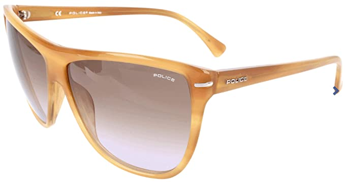Police Sonnenbrille S1730M Gafas de sol, Amarillo (Gelb ...
