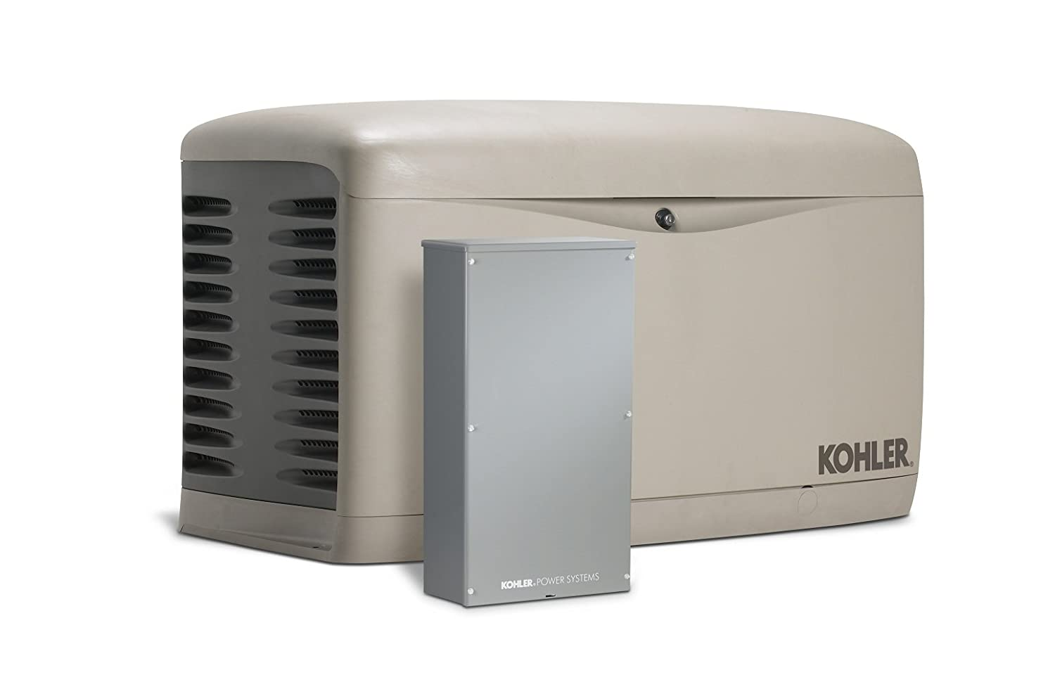 Amazon.com : Kohler 14RESAL-200SELS 14, 000-Watt Air-Cooled Standby ...