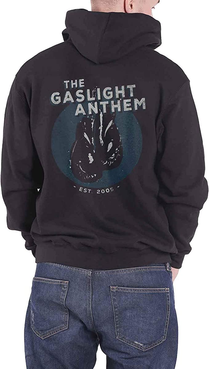 NEW /& OFFICIAL The Gaslight Anthem /'Boxing Gloves/' Zip Up Hoodie