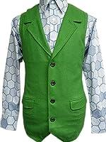 Joker Green Wool Vest Costume Halloween Tdk