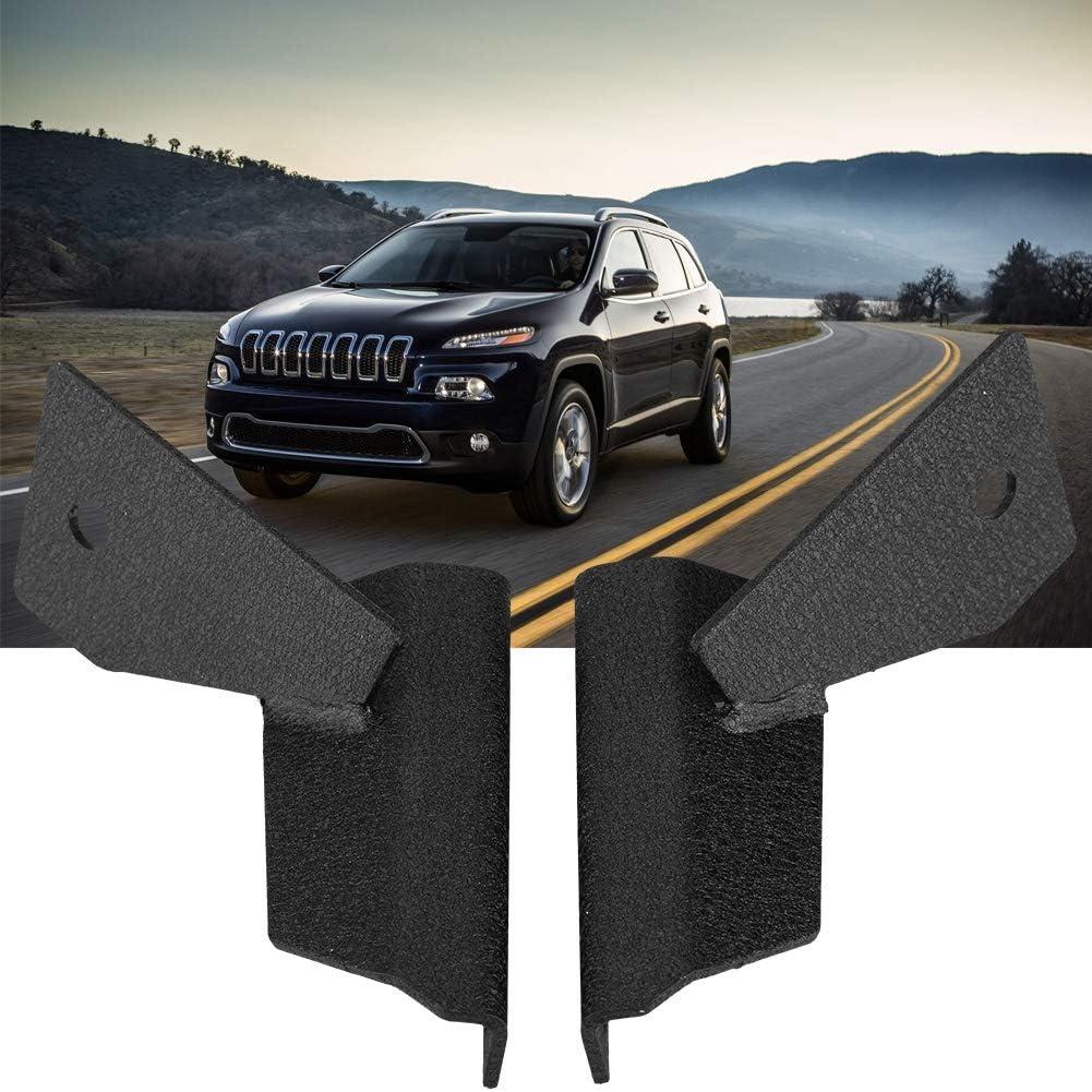 Duokon 1 Pair Car A-Pillar Windshield Mount LED Working Light Bar Bracket for Cherokee XJ