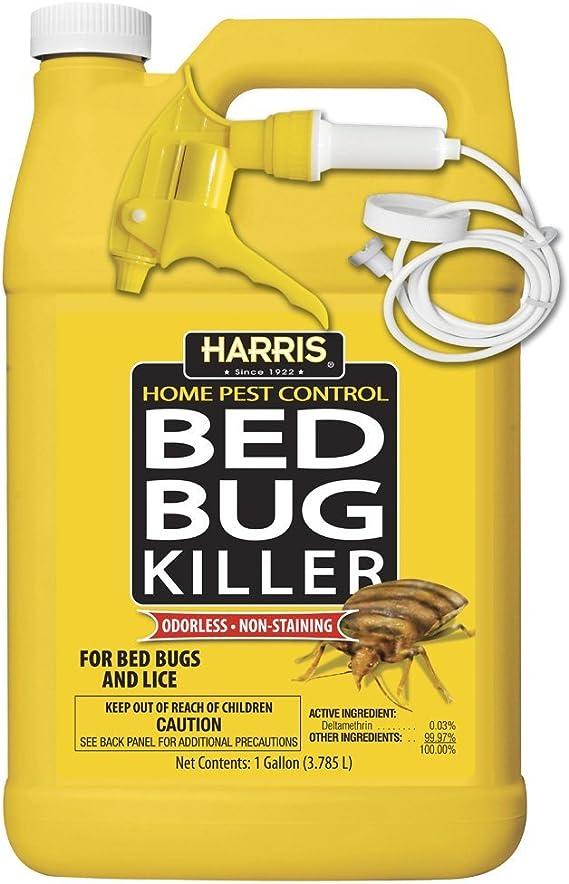 Amazon.com: Harris Bed insecticida, spray de galón ...