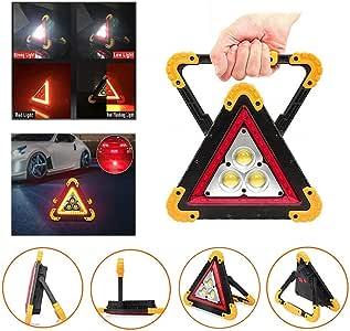 Triangulo Emergencia Led Recargable Lintera 500 Lumens **envío Premiun 24 Horas*