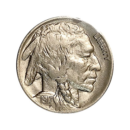 1917 D Buffalo Nickel - Gem BU/MS/UNC