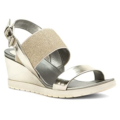 a6b4f90567c7 Easy Spirit Womens Hagano Wedge Sandal