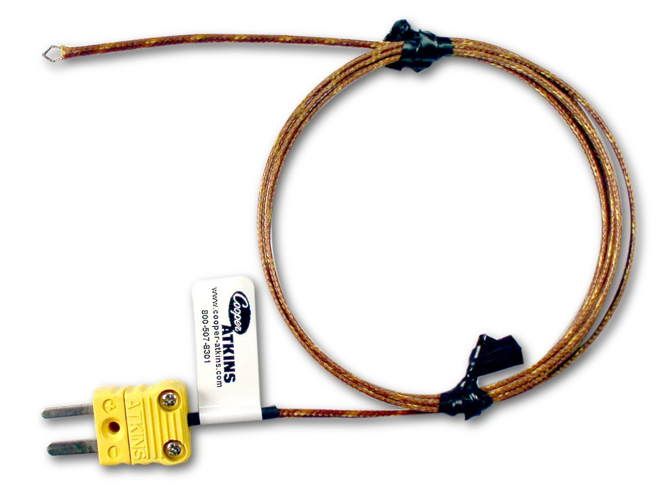 Cooper-Atkins 49138-K Type K Bare Tip Air Thermocouple Probe, 32 to 896 degrees F Temperature Range