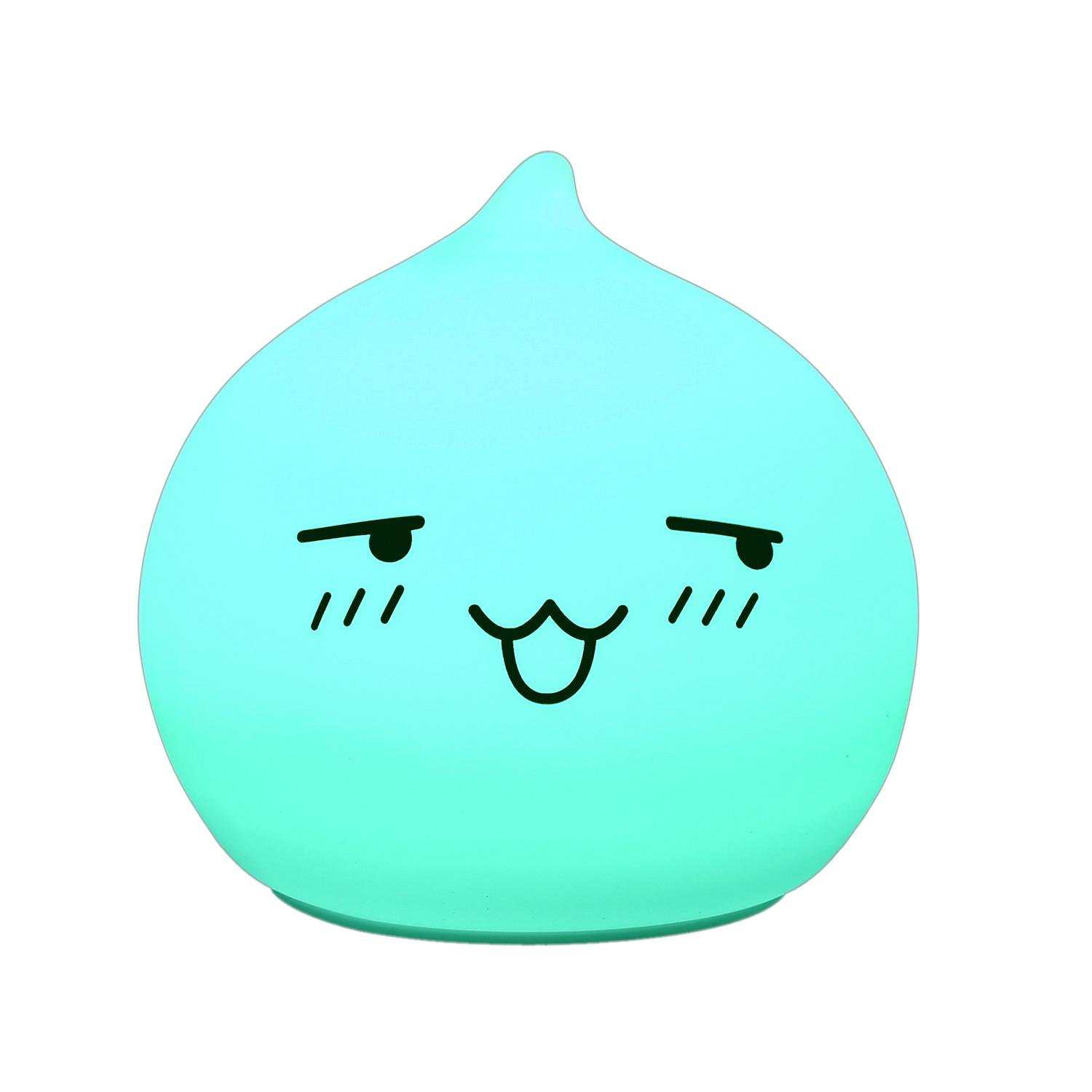 Led Night Lights Remote Control Led Silicone Soft Color Changing Cartoon Cute Cat Usb Charging Night Light For Children Bedroom Decor Kitty Lamps In Pain