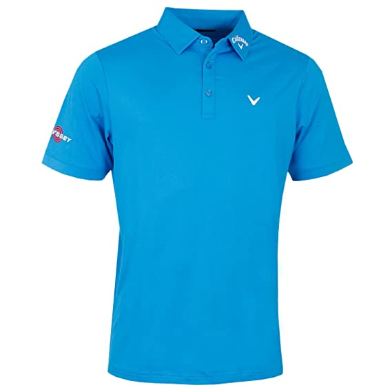 Callaway Tour II Polo de Golf, Hombre, Azul, XS: Amazon.es: Ropa y ...