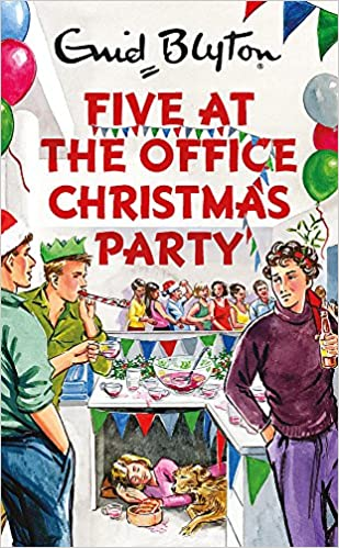 Christmas Party Images Cartoon.Five At The Office Christmas Party Enid Blyton For Grown