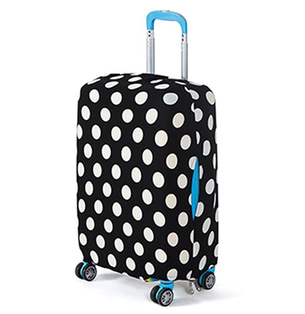 Luggage Cover Elastic Painted Luggage Protector Dustproof Suitcase Cover
