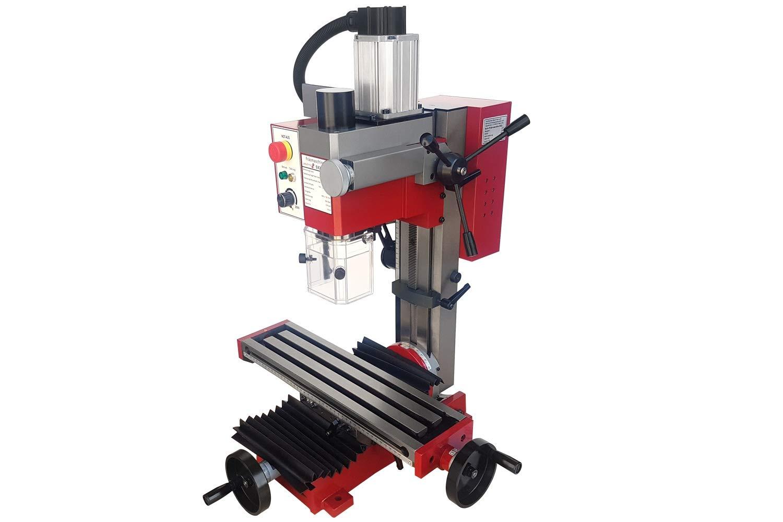 PAULIMOT Bohr-//Fr/äsmaschine SIEG SX2L mit b/ürstenlosem Motor und neigbarer Z-S/äule