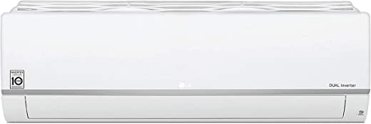 LG 1.5 Ton 5 Star Dual Inverter Split AC (Copper, KS-Q18HNZD , White, Hi Grooved Copper)