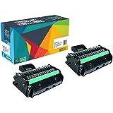 Do it Wiser ® 2 Toner 407254 Compatibles (2,600 Pages) pour Ricoh Aficio SP200 SP201 SP202 SP203 SP204 SP210 SP211 SP212 SP213
