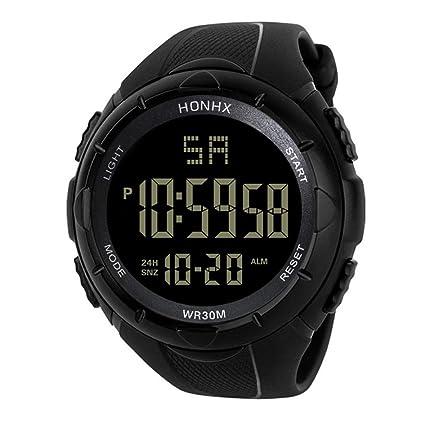 2018 Nice Design LED Reloj de Pulsera de Cuarzo Digital a Prueba de Agua Militar Reloj