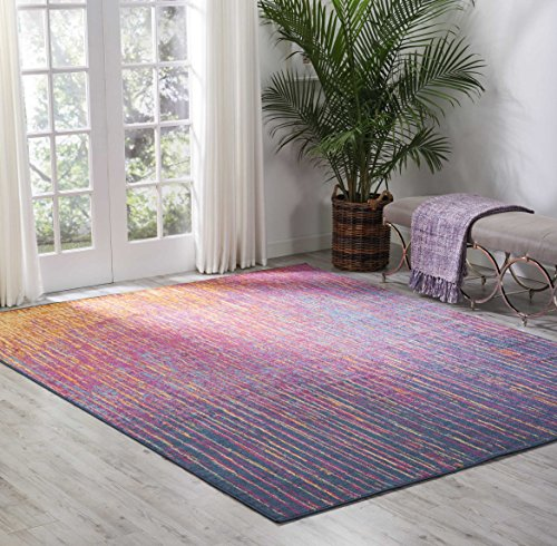 Nourison (PSN09) Passion Modern Abstract Colorful Multicolor Area Rug, 8' x  10'