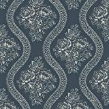 Magnolia Home Coverlet Floral Removable Wallpaper Multi