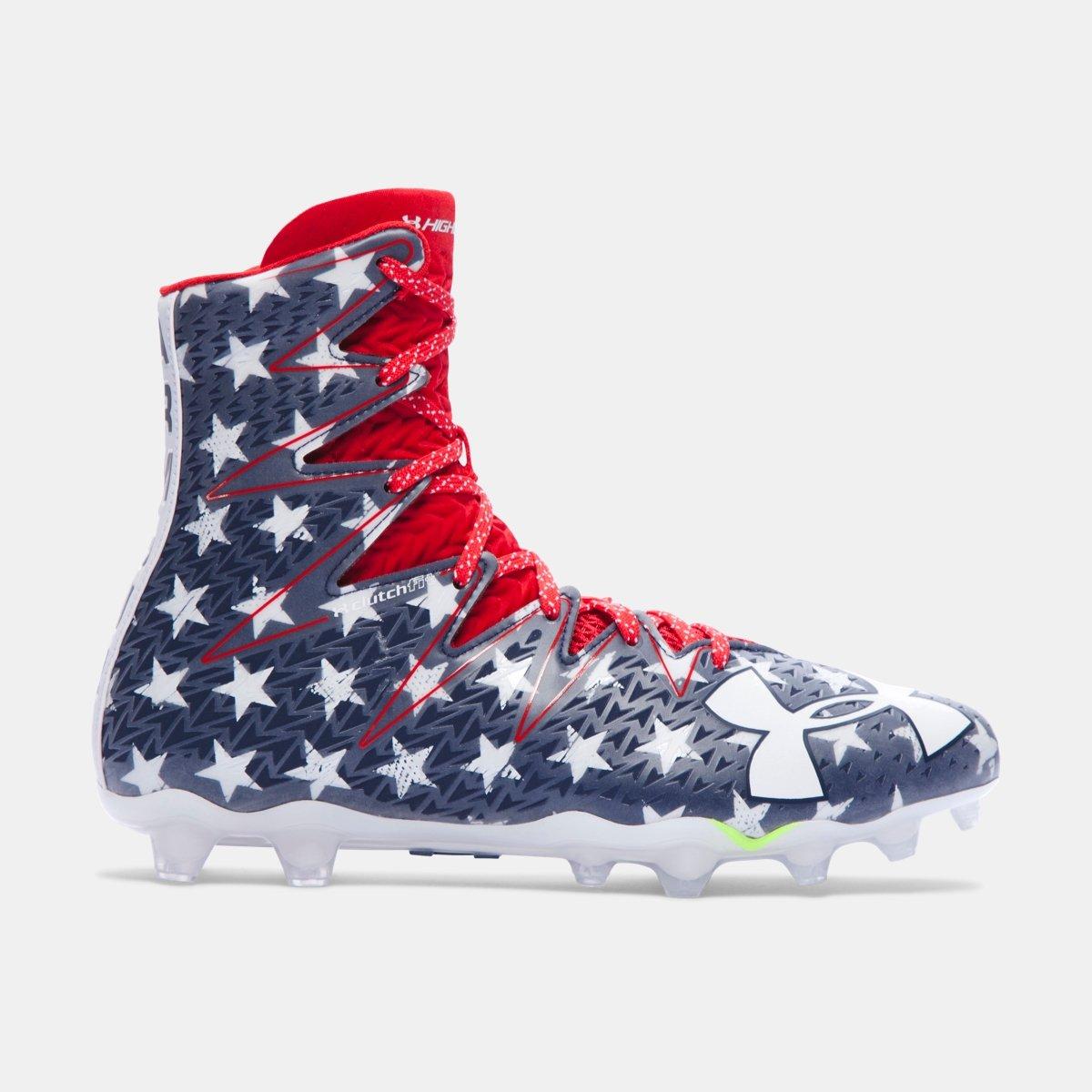 [アンダーアーマー] UNDER ARMOUR メンズ UA Highlight Football Cleats ― Limited Edition [並行輸入品] B074WLCK9X 32.0 cm|Stars and Stripes Stars and Stripes 32.0 cm