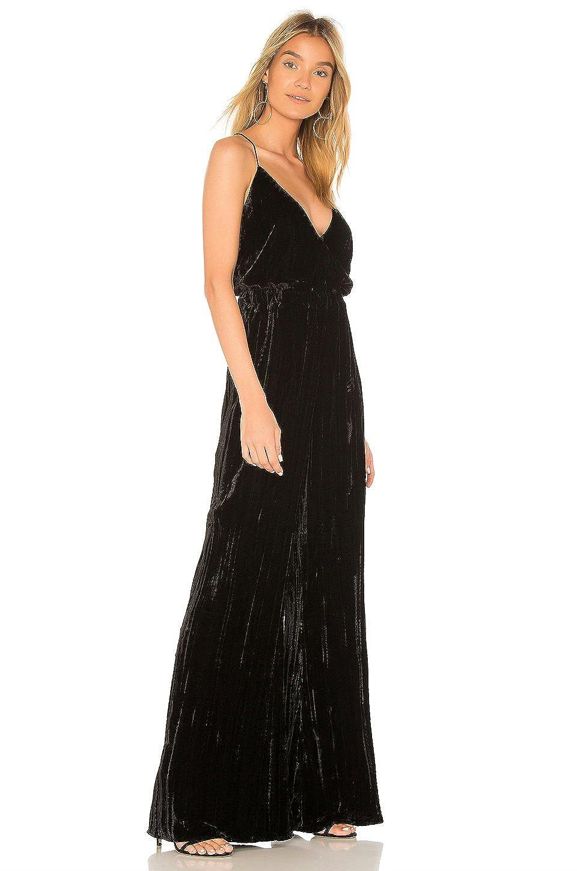 547a83bcc74c76 Amazon.com  Nightcap Women s Crushed Velvet Jumpsuit in Black