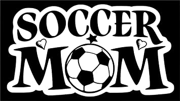 Soccer Mom 2 Decal Sticker for Truck SUV Car