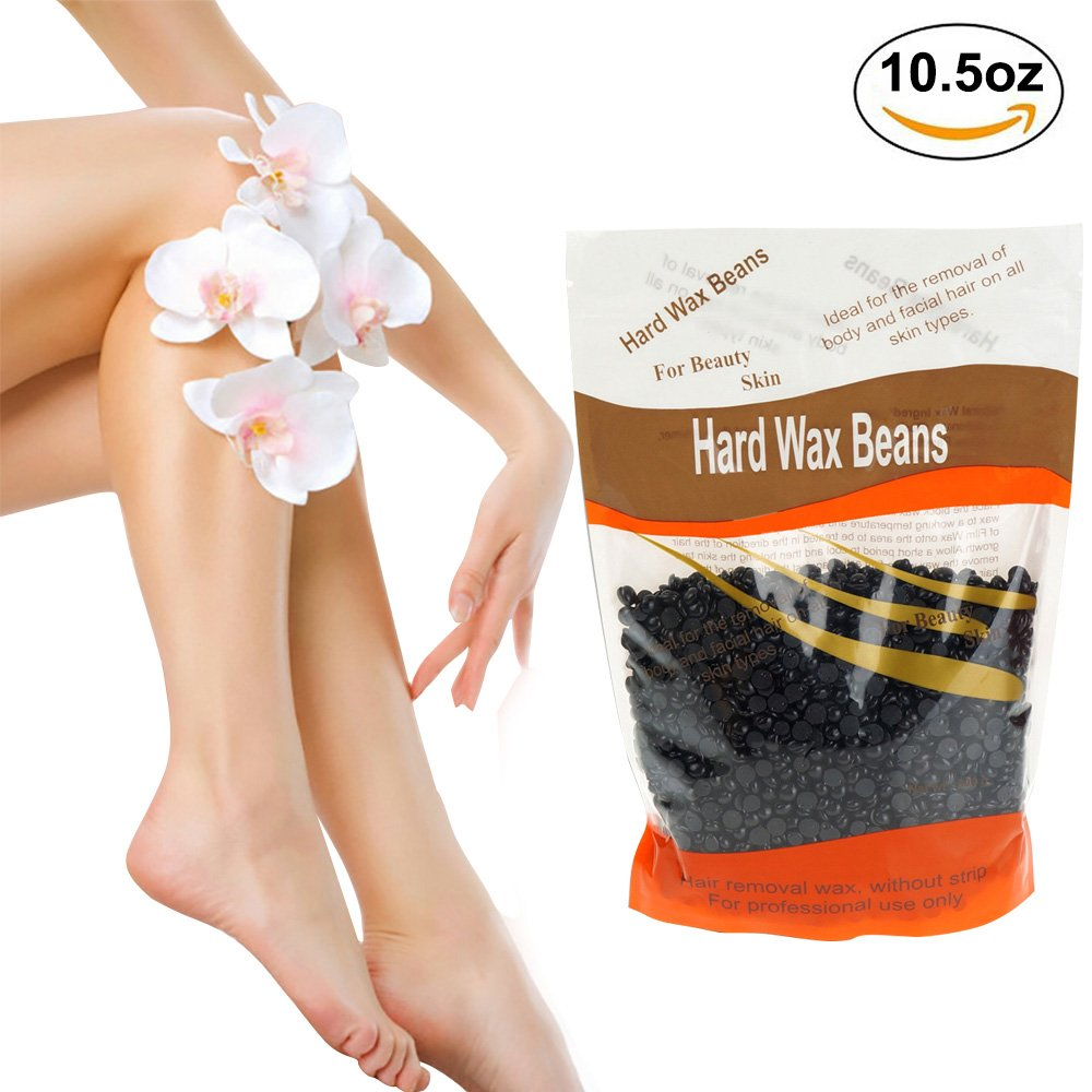 Wax Warmer, Portable Electric Hair Removal Kit for Facial &Bikini Area& Armpit-- Melting Pot Hot Wax Heater accessories Total Body Waxing Spa or Self-waxing Spa in Home For Girls & Women & Men Kids Partner