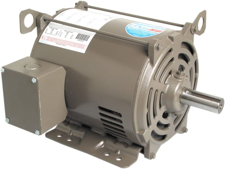A.O. Smith E397 10 HP, 1800 RPM, 230/460 Volts, 215T Frame, ODP Enclosure General Purpose Three Phase Motor