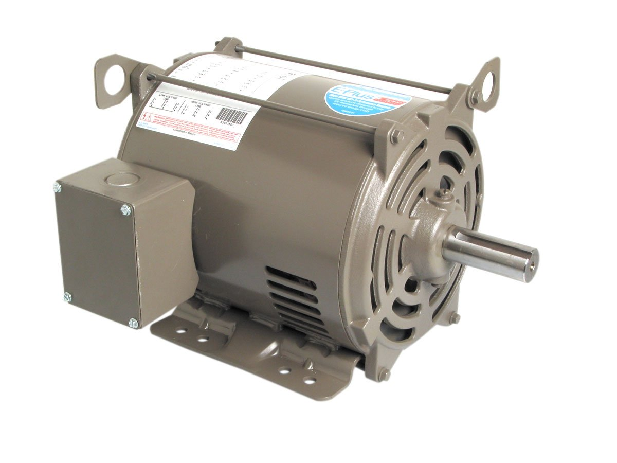 A.O. Smith E407 20 HP, 1800 RPM, 230/460 Volts, 256T Frame, ODP Enclosure General Purpose Three Phase Motor