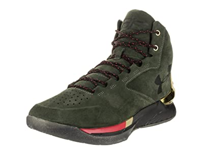 Under Armour Curry 1 LUX MID - Mens (8.5, Downtown Green/Gold/