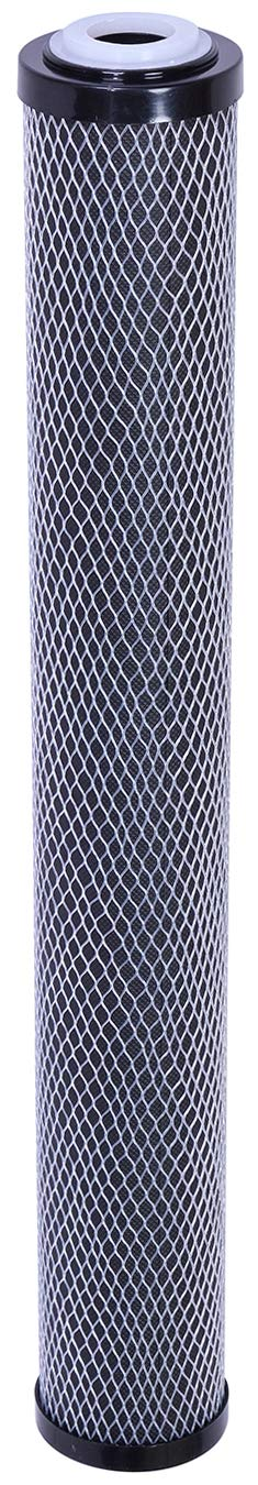 Hansing Water Softener Replacement Filter, 10 Micron 20 x 2.5 Activated Carbon Block Water Softening Cartridge for HSFP-20IN and HSGD-20IN by Hansing