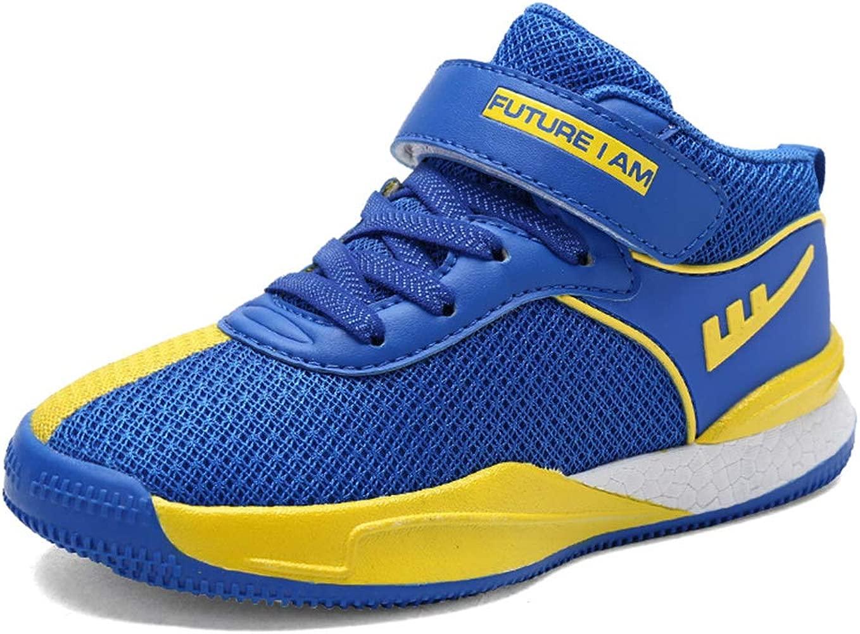 Zapatillas de Baloncesto para niños con Velcro Calzado de ...