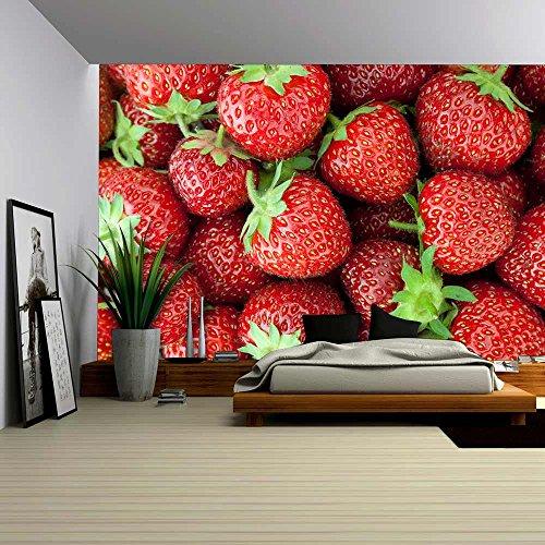 Fresh Ripe Strawberry Closeup