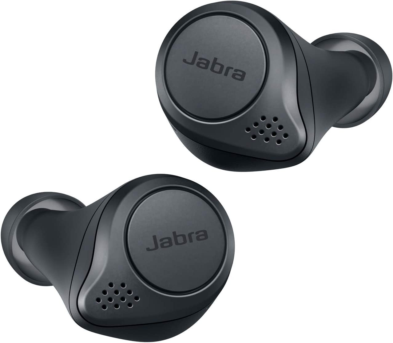 Jabra Elite Active 75t - Auriculares inalámbricos para deporte compatible con iOS/Android (Bluetooth 5.0, True Wireless), Gris