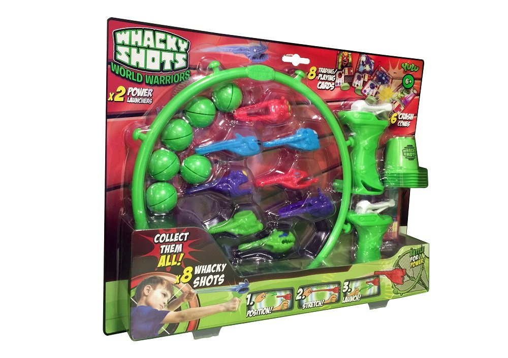 YULU Q7005 - Pack de energía para whacky shots World Warriors: Amazon.es: Juguetes y juegos