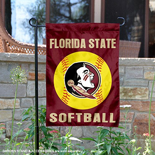 College Flags and Banners Co. Florida State Seminoles Softball Garden Flag