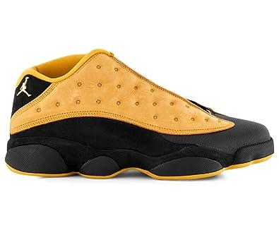 newest 924f7 d046f Nike Men's Air Jordan 13 Retro Low Shoe Black/Chutney ...
