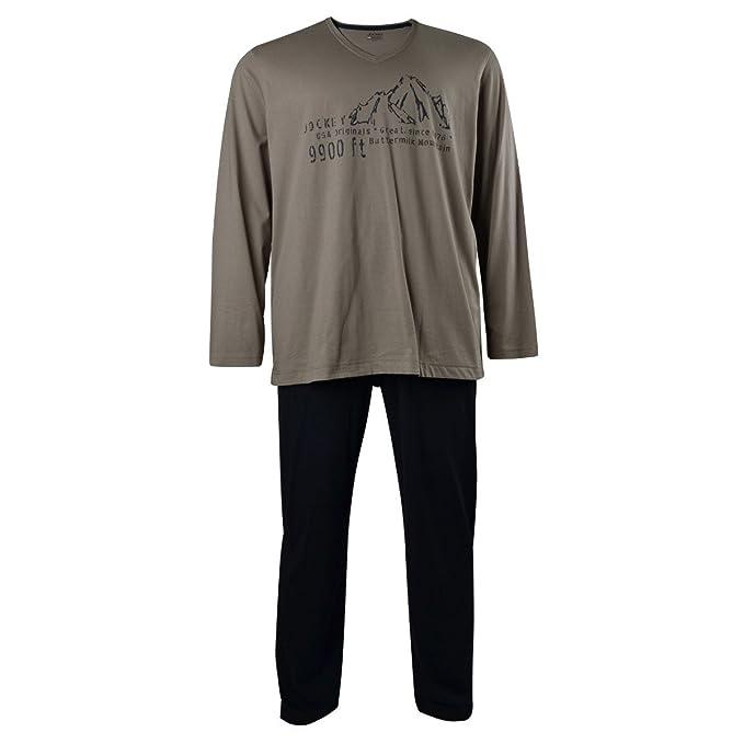 Jockey XXL Pijama beige-azul oscuro, 2xl-8xl:6xl