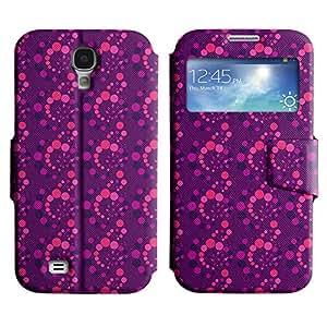 LEOCASE pequeño círculo Funda Carcasa Cuero Tapa Case Para Samsung Galaxy S4 I9500 No.1002990