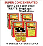 Fuel Magic Super Fuel Saver super concentrated fuel additive - 1 Year's Supply